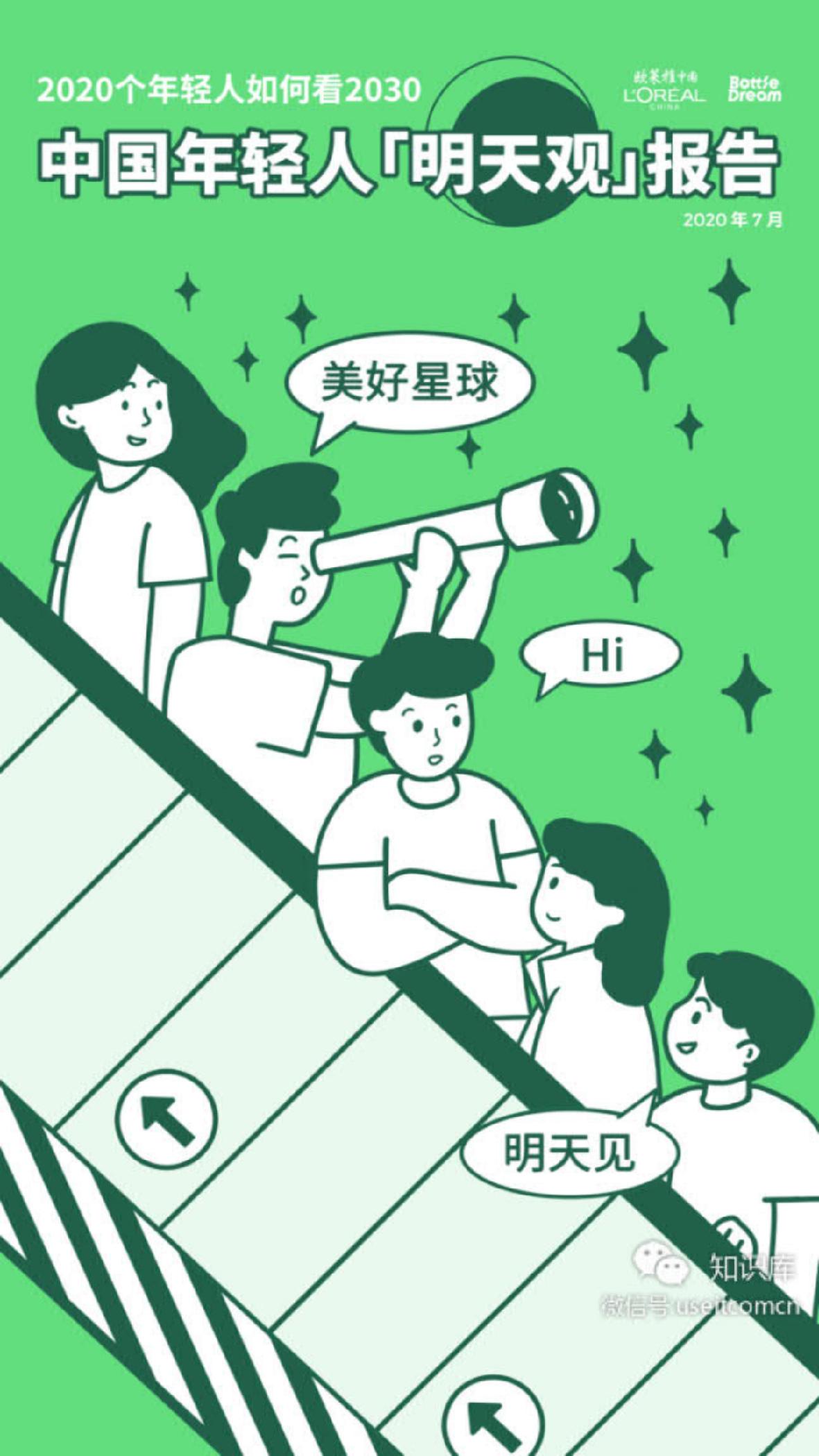 """中国年轻人""""明天观""""报告"""