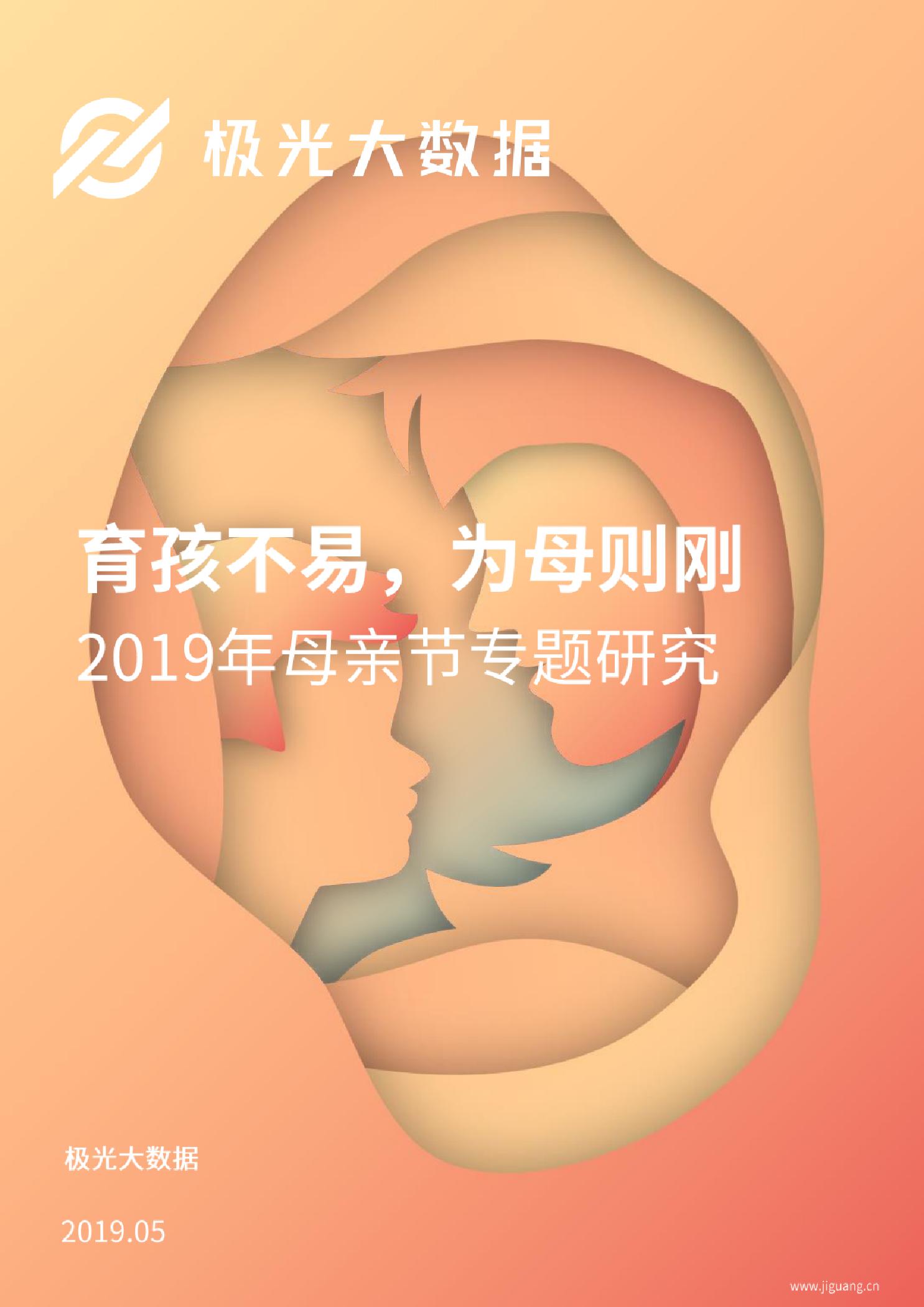 2019年母亲节专题研究