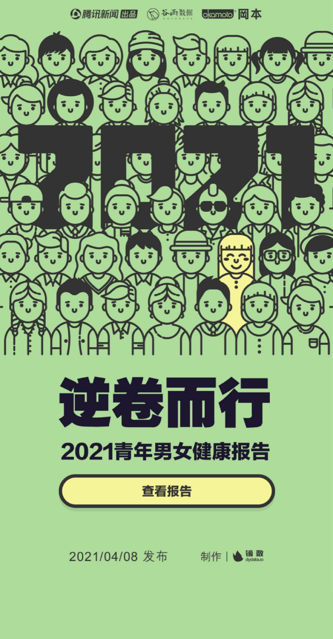 逆卷而行—2021青年男女健康报告